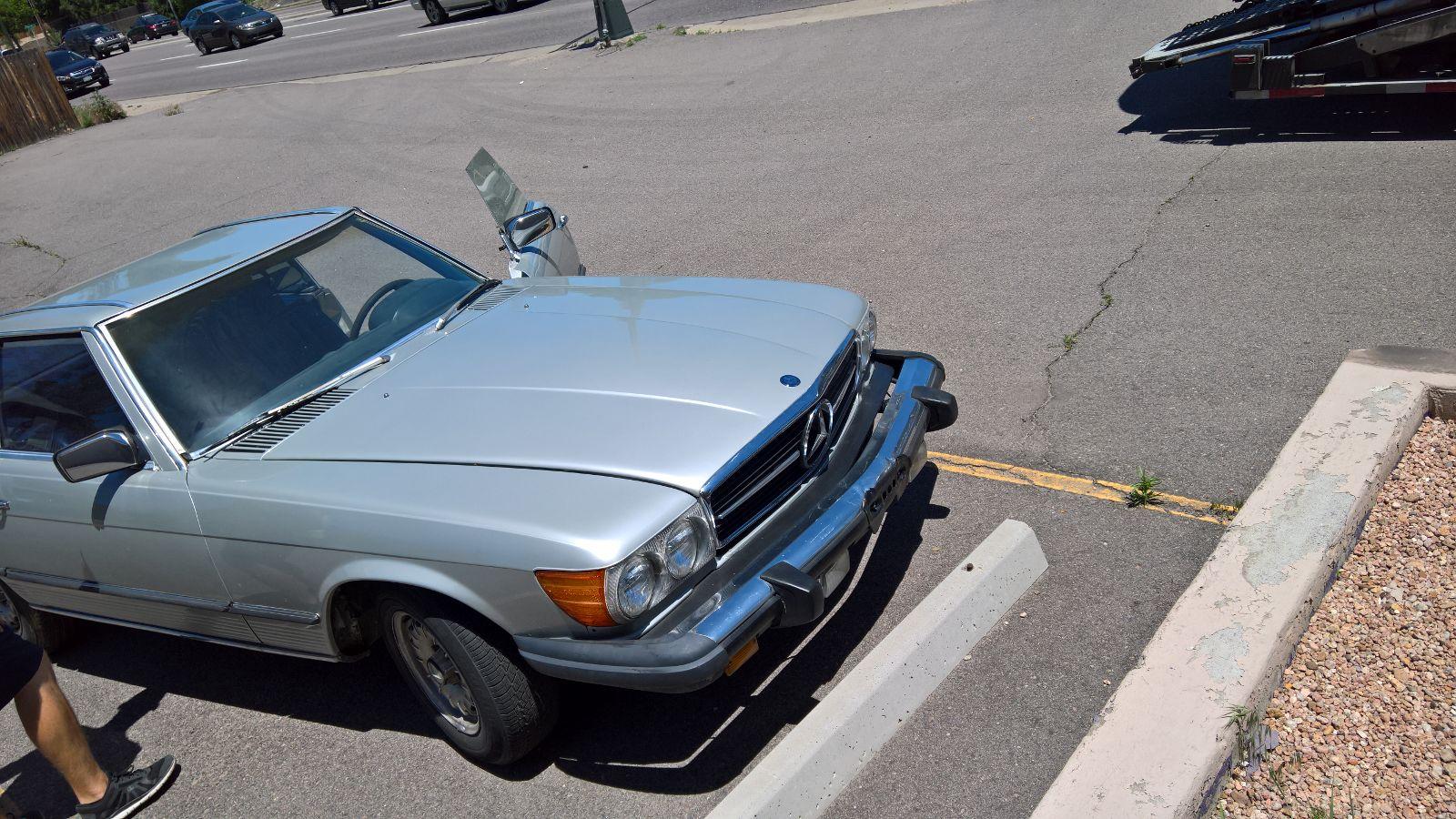 1977 mercedes benz 450 sl city center auto for Mercedes benz 450 sl